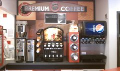 Java Coffee and Fountain Machine